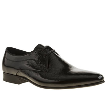 H By Hudson Black Laurey 2 Eye Shoes