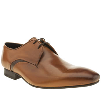 H By Hudson Tan Leyton 2 Eye Gibson Shoes