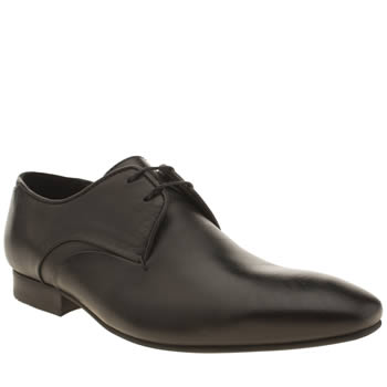 H By Hudson Black Leyton 2 Eye Gibson Shoes