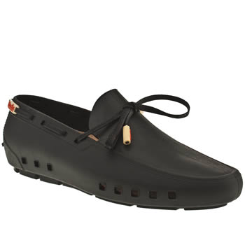 Mocks Black Driver Shoes