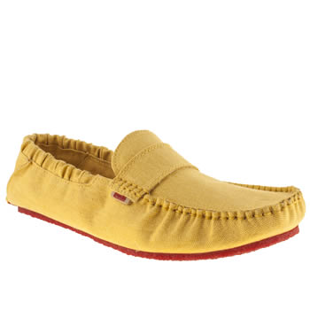 Mocks Yellow Saddle Shoes