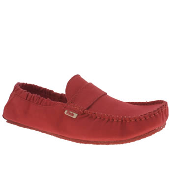 Mocks Red Saddle Shoes