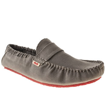 Mocks Grey Saddle Mens Shoes