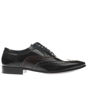 Ikon Black Gipson Oxford Mens Shoes