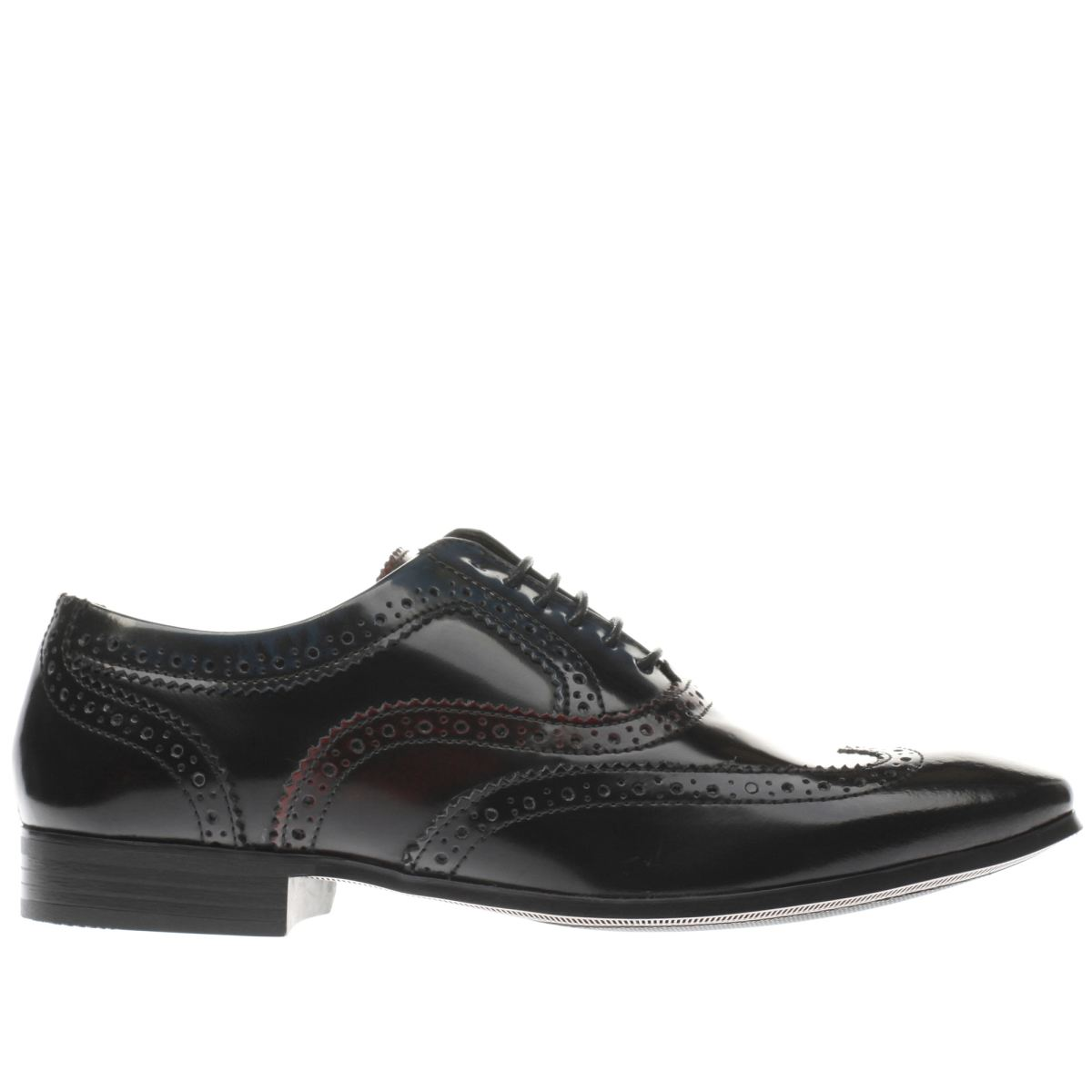 ikon black & navy gipson oxford shoes