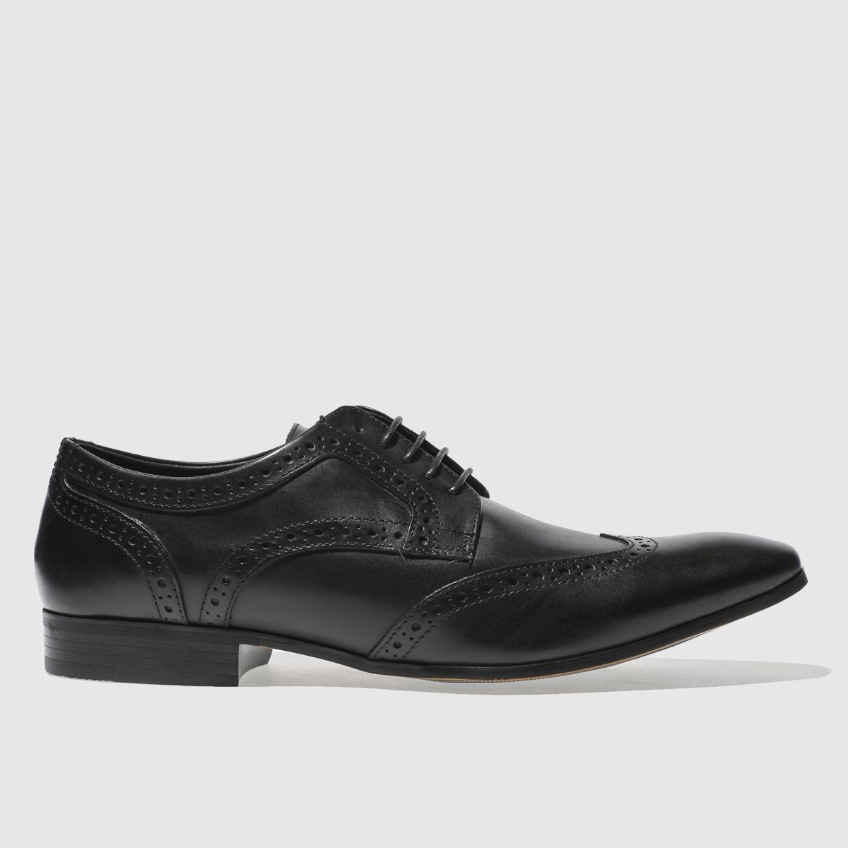 ikon black gipson brogue shoes