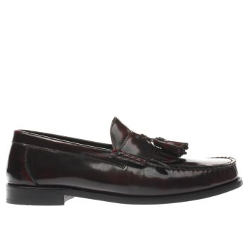 Ikon Burgundy Bel Air Loafer Mens Shoes