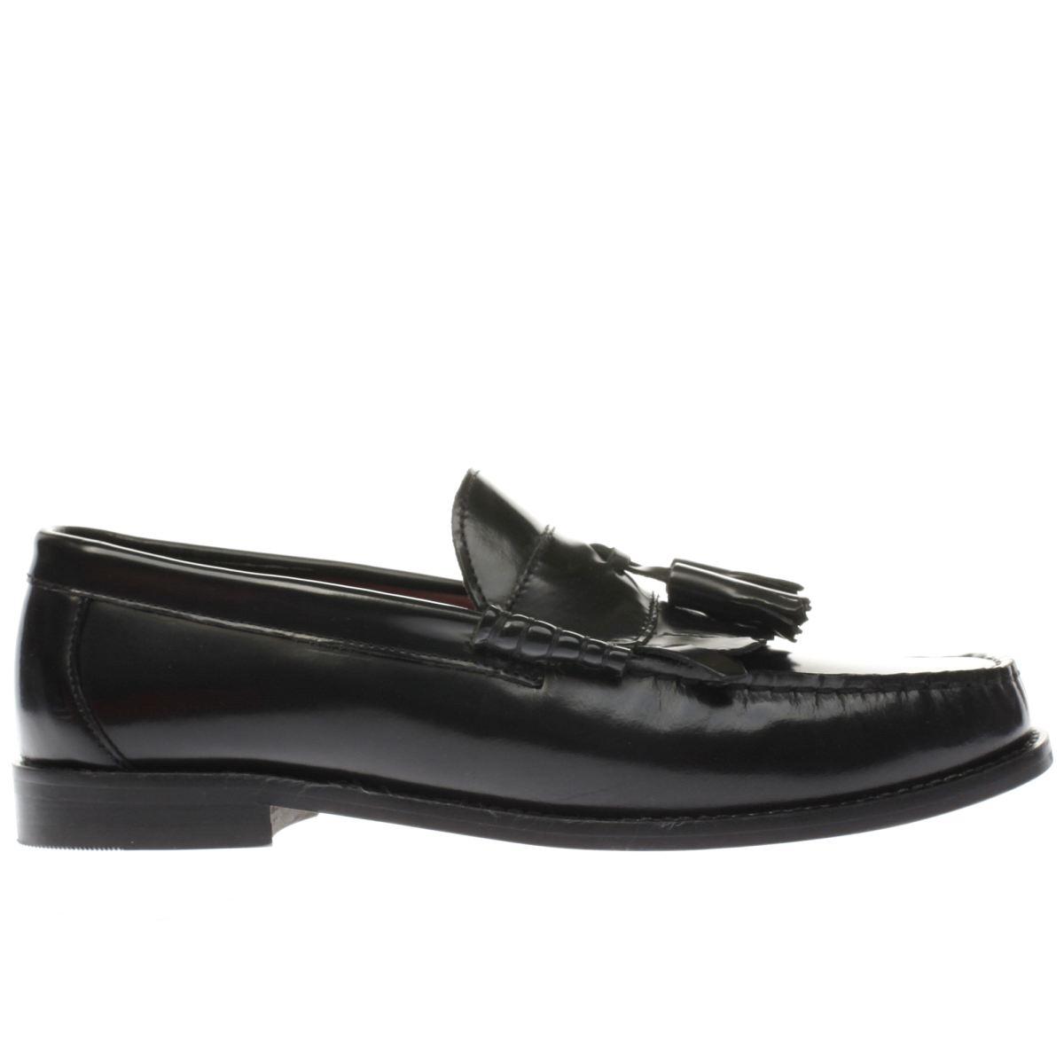 ikon black bel air loafer shoes