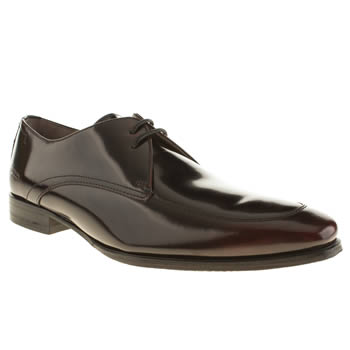 Oliver Sweeney Burgundy Caldwel Apron Shoes
