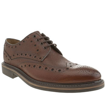 Oliver Sweeney Brown Hawnby Brogue Shoes