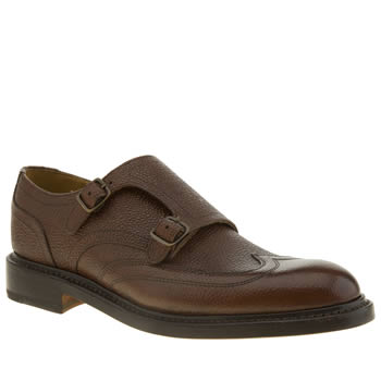 Oliver Sweeney Brown Clifton Wing Shoes