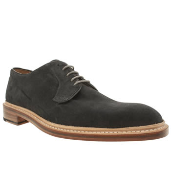 Oliver Sweeney Dark Grey Westleton Derby Shoes