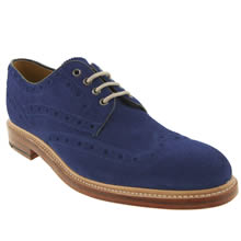 Blue Oliver Sweeney Haskerton Brogue