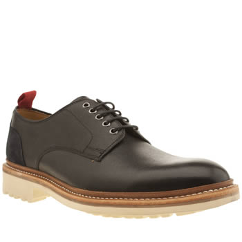 Oliver Sweeney Black Hepworth Derby Shoes
