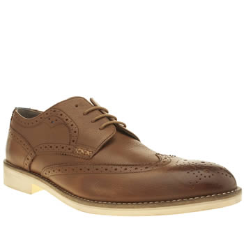 Oliver Sweeney Tan Bradley Derby Shoes