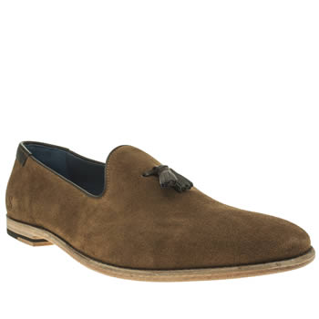 Oliver Sweeney Tan Avisse Loafer Shoes