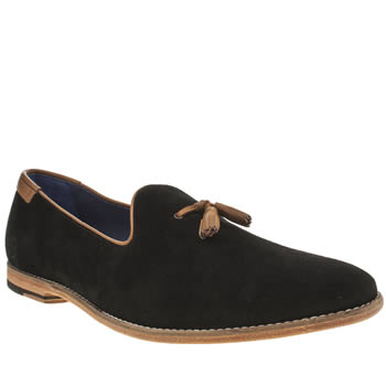 Oliver Sweeney Black Avisse Loafer Shoes