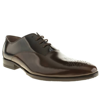 Oliver Sweeney Brown & Navy Belair Oxford Shoes