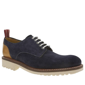 Oliver Sweeney Navy Porter Shoes