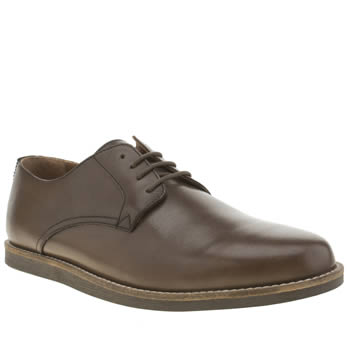 Mens Frank Wright Brown Trinder Shoes