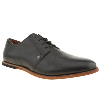 Mens Frank Wright Black Stein Gibson Shoes