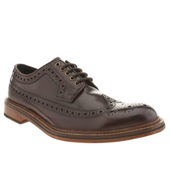 Thomas Partridge Burgundy Hilts Shoes