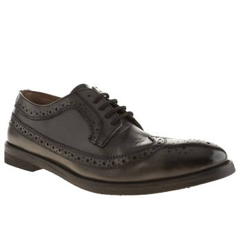 Mens Frank Wright Black Bude Shoes