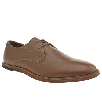 Mens Frank Wright Tan Busby Shoes