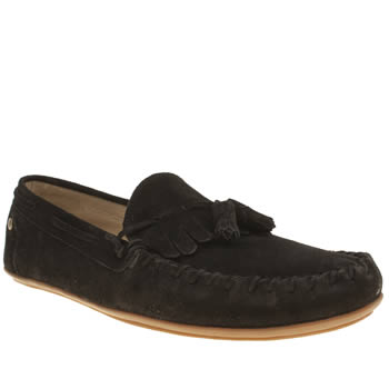 Mens Frank Wright Black Nevis Shoes