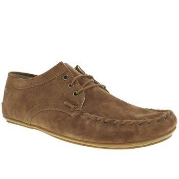 Mens Frank Wright Tan Barts Shoes