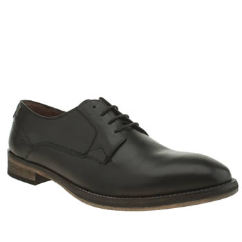 Mens Frank Wright Black Merton Shoes