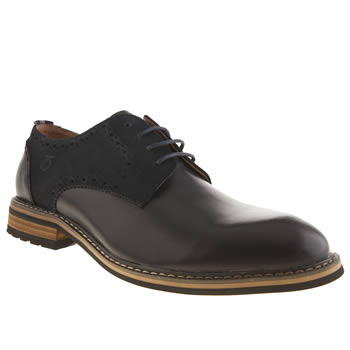 Peter Werth Navy Turnmill Derby Shoes