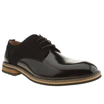 Peter Werth Black Turnmill Derby Shoes