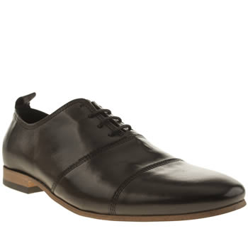 Momentum Black Augustus Oxford Shoes