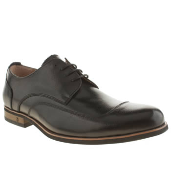 Peter Werth Black Atkinson U-cap Shoes