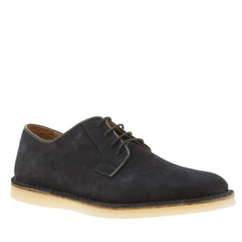 Momentum Navy Pasadena Derby Mens Shoes