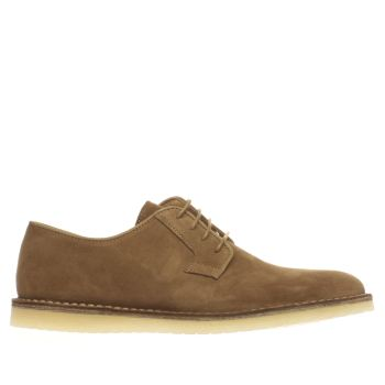 Momentum Tan Pasadena Derby Mens Shoes