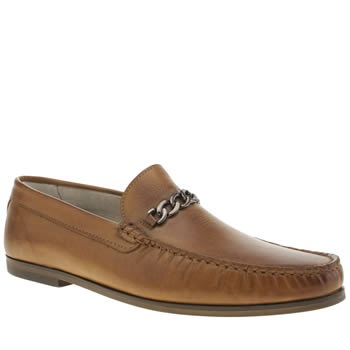 Mens Momentum Tan Rinse Loafer Shoes
