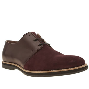 Mens Momentum Burgundy Stuttgart Gibson Shoes