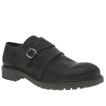 Momentum Black Gunnerside Twin Monk Shoes