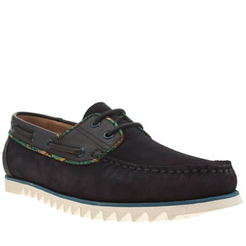 Mens Momentum Navy Bounty Boat Shoes