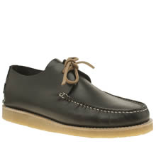 Yogi Black Lawson Crepe Trapper Mens Shoes