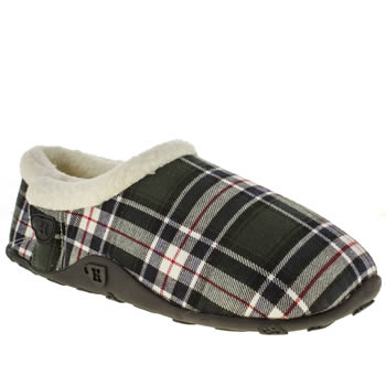 mens homeys navy & red byron slippers