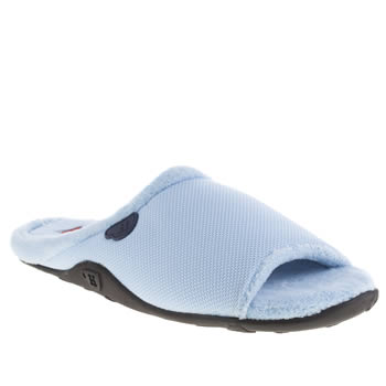 Mens Homeys Pale Blue Ice Slippers
