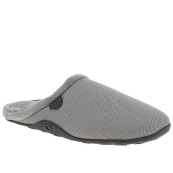 Mens Homeys Grey Tone Slippers