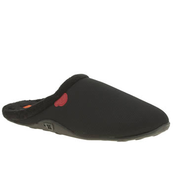 Mens Homeys Black Dooky Slippers
