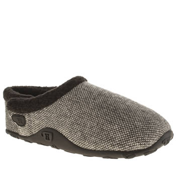 Homeys Black & Grey Flynn Slippers