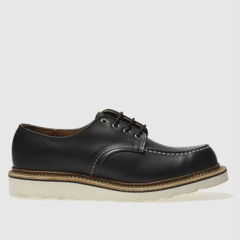 Red Wing Black Classic Oxford Mens Shoes