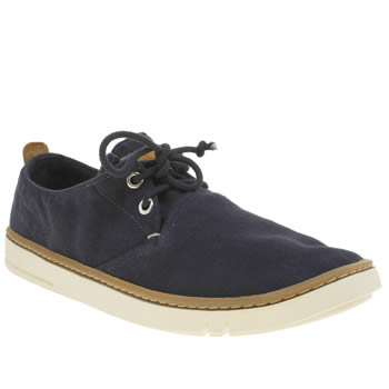 Mens Timberland Navy Earthkeepers Hookset Ox Shoes