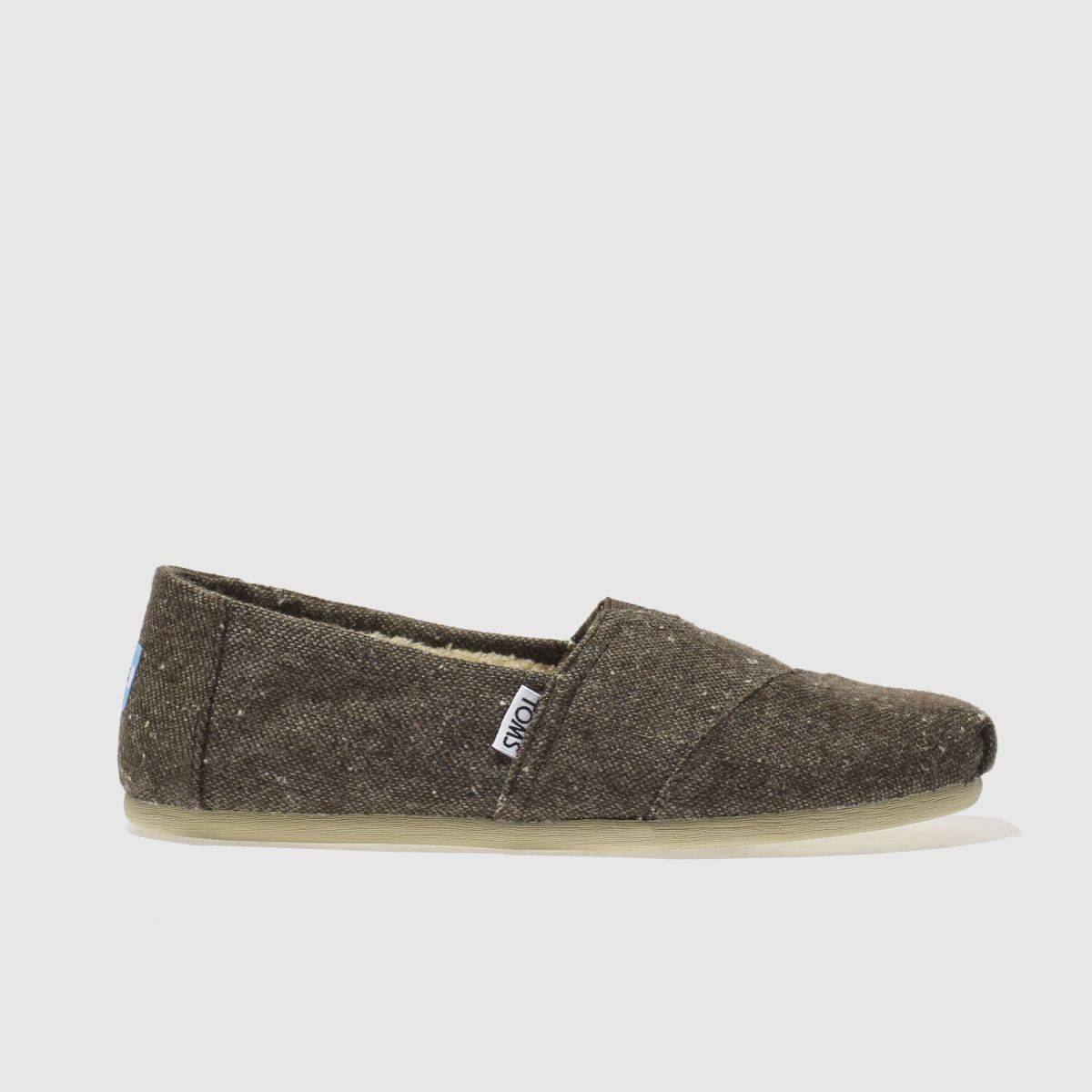 toms brown seasonal classic shoes